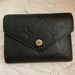 louis vuitton black wallet